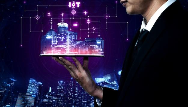 Technologie de communication 5g du réseau internet