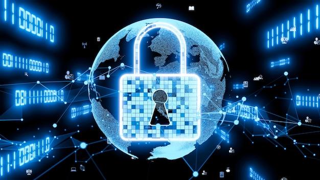 Technologie de cryptage visionnaire de cybersécurité pour protéger la confidentialité des données