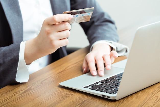 Technologie internet numérique de paiement en ligne