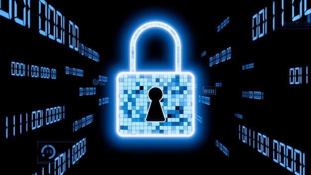 Technologie visionnaire de cryptage de cybersécurité pour protéger la confidentialité des données