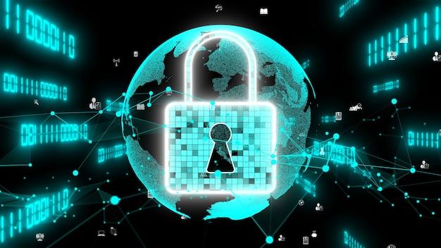 Technologie visionnaire de cryptage de cybersécurité