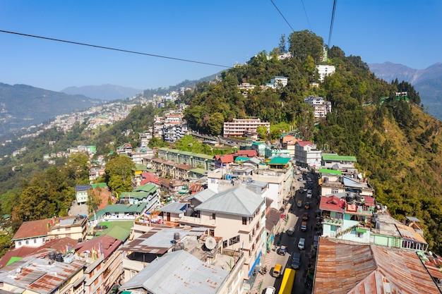Téléphérique de gangtok, inde