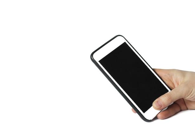 Téléphone en main
