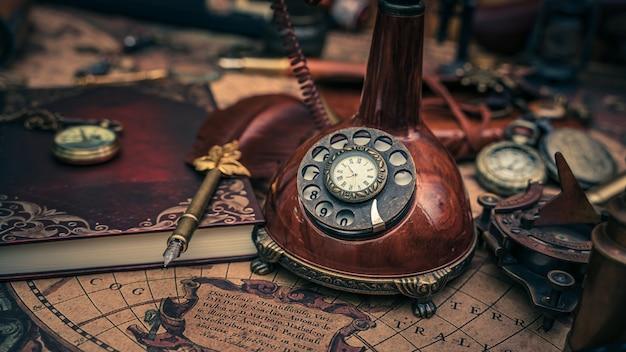 Téléphone pirate vintage