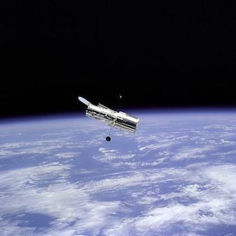 Télescope hubble sciences atmosphère de l'espace