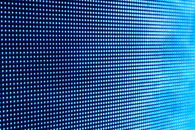 Télévision de fond point rvb. utilisation de points de couleur bleue pour la conception de fond