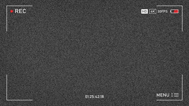 La télévision n'a pas de signal. pas de signal. bruit de fond