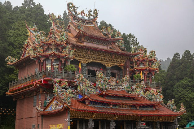 Le temple alishan shouzhen