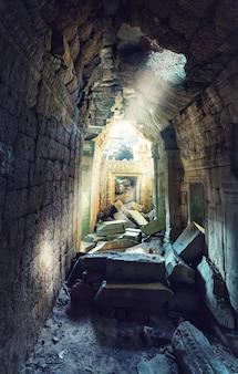 Temple d'angkor thom au cambodge