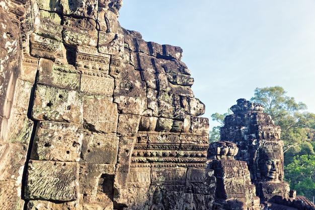 Temple à angkor thom, cambodge