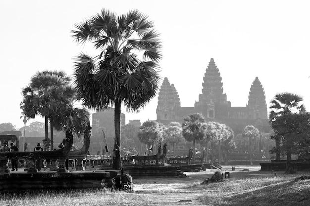 Temple d'angkor vat, siem reap, cambodge.