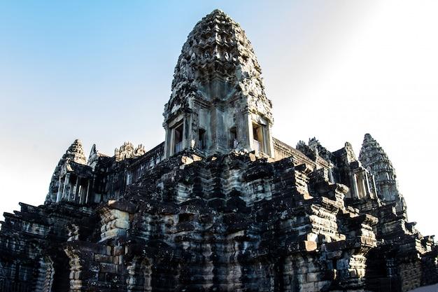 Temple d'angkor wat à siem reap, cambodge