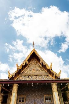 Temple à bangkok en thaïlande