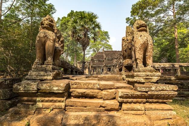 Temple de banteay kdei à angkor wat à siem reap, cambodge