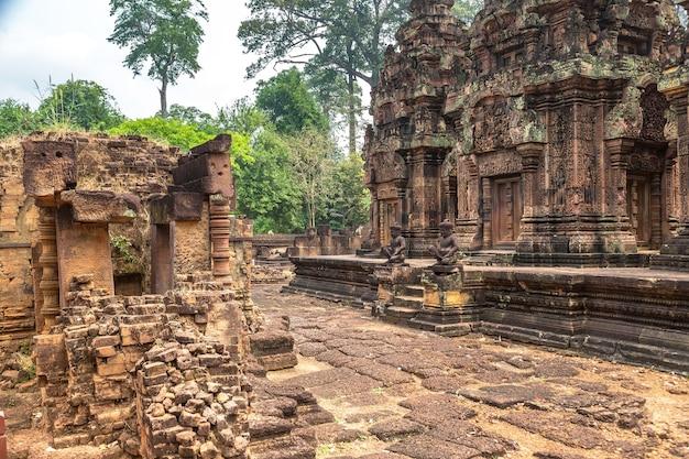 Temple de banteay srei à angkor wat à siem reap, cambodge