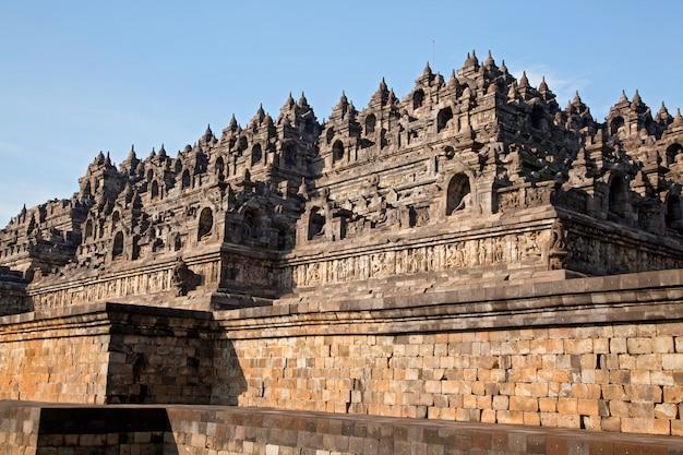 Temple de borobudur indonésie