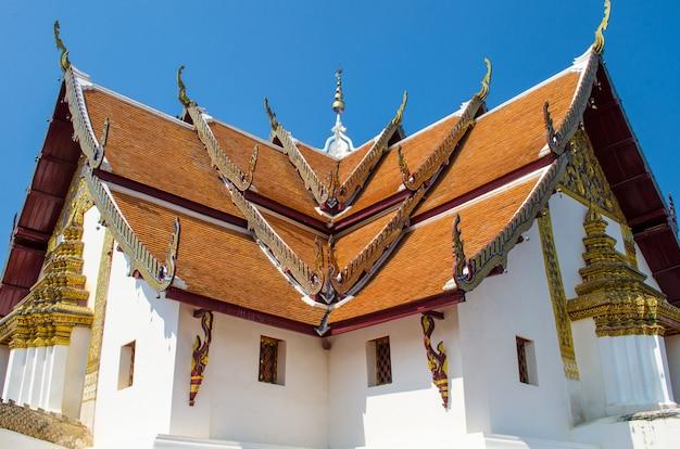 Temple célèbre à nan, thaïlande