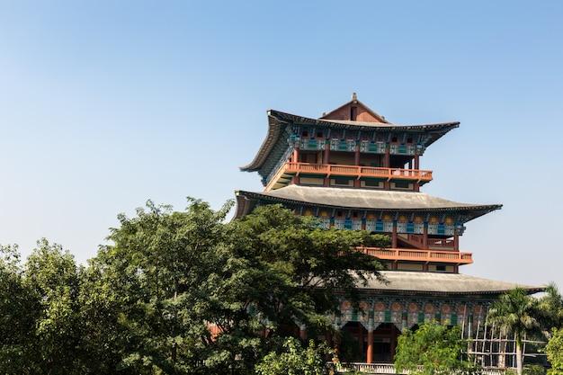 Temple coréen, lumbini, népal
