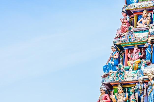 Temple hindou indien à singapour