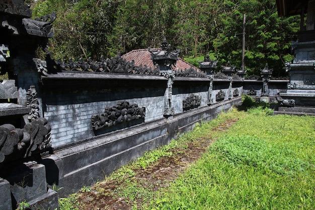 Le temple sur l'île de bali, indonésie