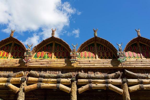 Temple indigène antique