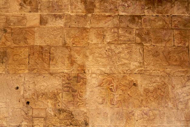 Temple des jaguars à chichen itza au mexique