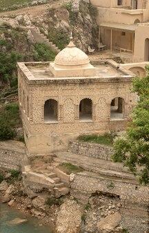 Temple des katas raj d'incient près de kalar kahar, chakwal punjab pakistan