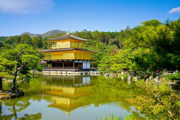 Temple kinkakuji à kyoto, japon