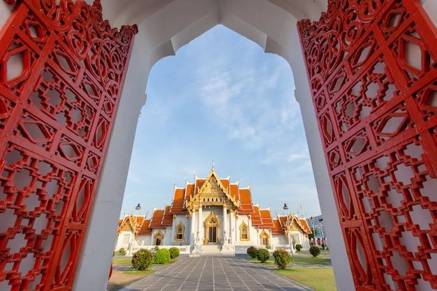 Le temple de marbre, wat benchamabopitr dusitvanaram, bangkok, thaïlande