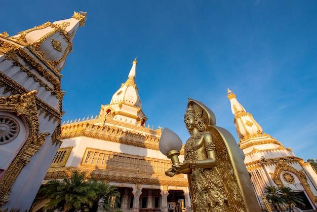 Temple phra maha chedi chai mongkol, temple public et célèbre, roi et thaïlande