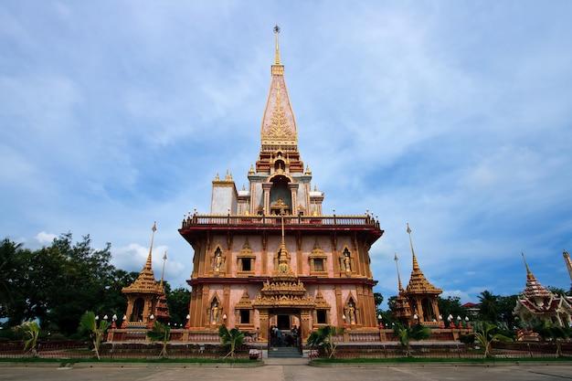 Temple à phuket en thaïlande