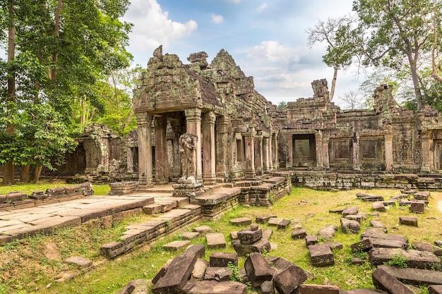 Temple de preah khan à angkor wat à siem reap, cambodge