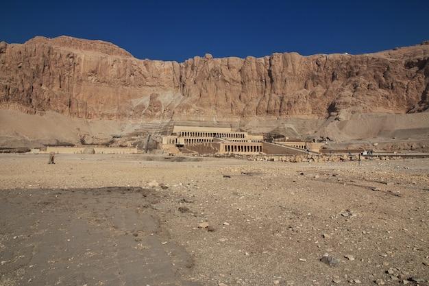 Temple de la reine hatchepsout à louxor, egypte