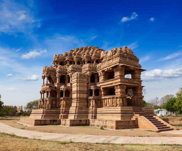 Temple de sasbahu dans le fort de gwalior