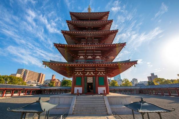 Temple shitenno-ji