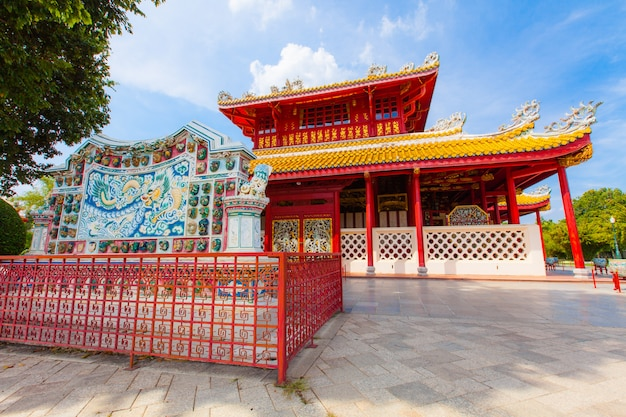 Temple de style chinois