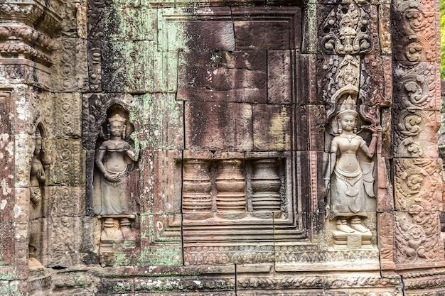 Temple de ta som à angkor wat à siem reap, cambodge