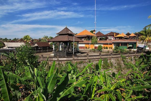 Temple de taman ayun à bali, indonésie