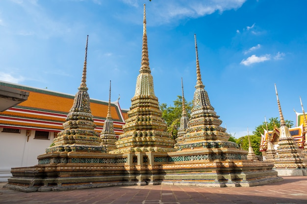 Temple thaïlandais à bangkok, thaïlande