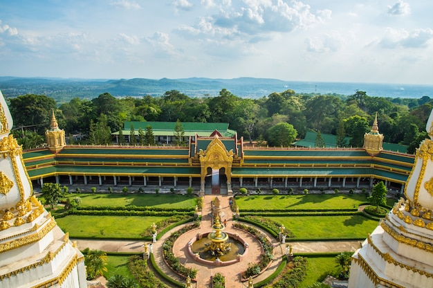 Temple de la thaïlande
