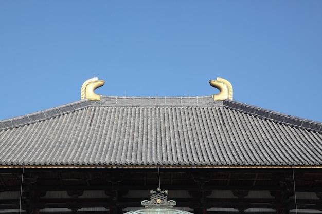 Temple todai-ji, le temple le plus célèbre de la ville de nara, dans la région de kansai, au japon.