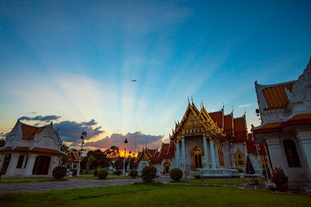Temple wat benchamabhorphit bangkok thaïlande