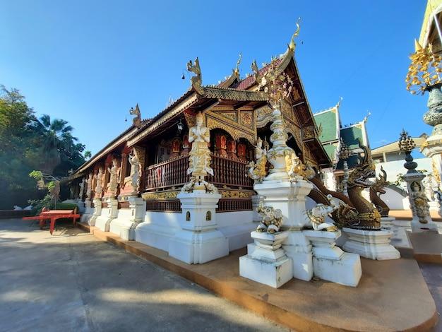 Temple wat ming mueang à chiang rai