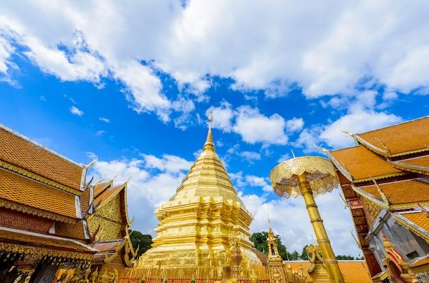 Temple wat phra that doi suthep