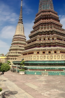 Temple de wat po à bangkok