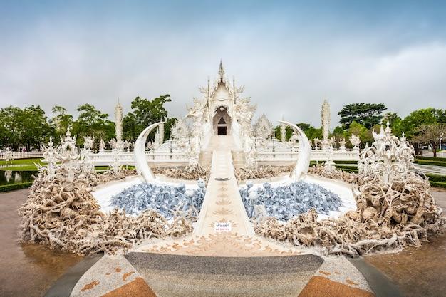 Temple wat rong khun à chiang rai, thaïlande