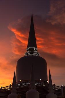 Temple wat that-noi à nakhon si thammarat, thaïlande