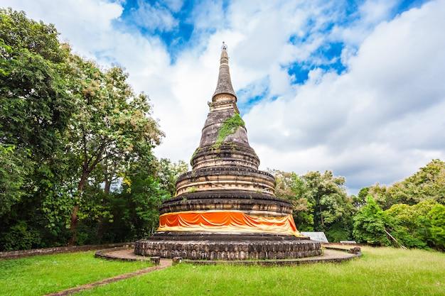 Temple wat umong à chiang mai en thaïlande