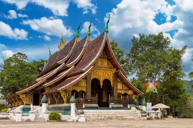Temple wat xieng thong à luang prabang, laos.
