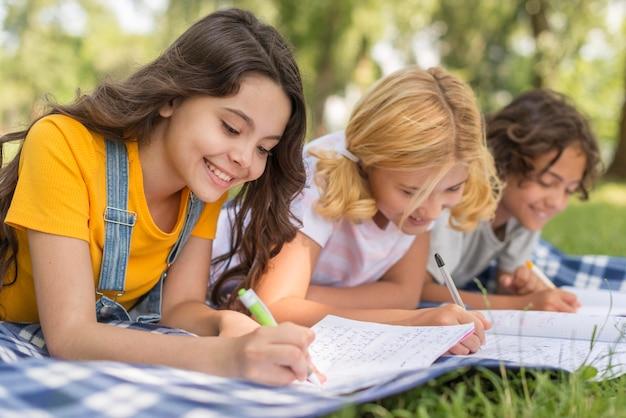 Temps de cours pour enfants